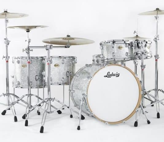ludwig silver sparkle