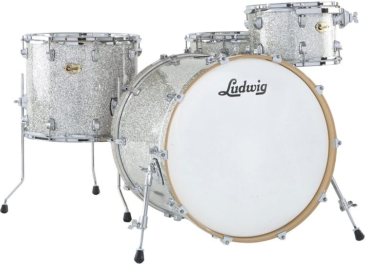 basic configuration, consisting of a bass drum, a snare, and three toms