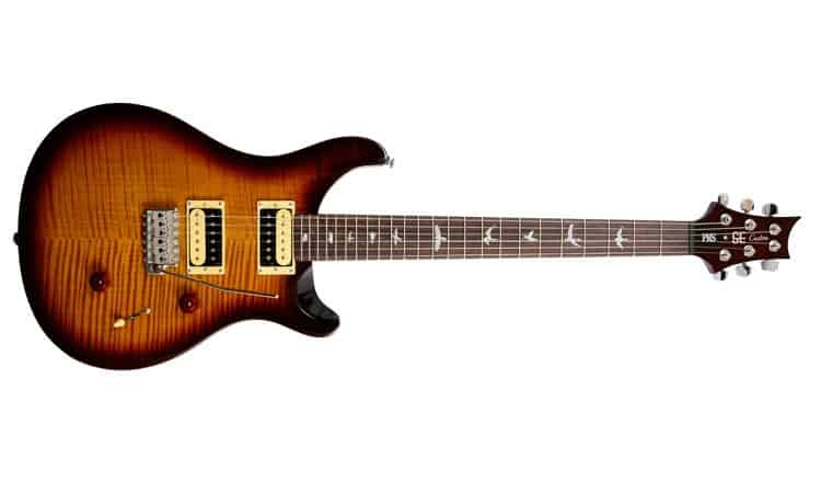 This guitar model comes with those legendary bird inlays