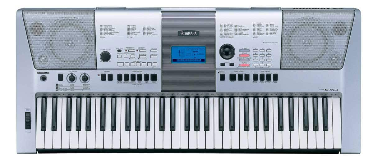 Yamaha PSR E413 an entry level category