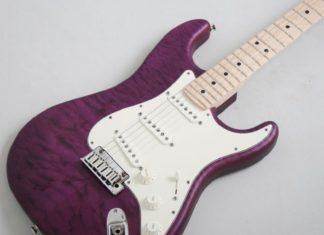 purple fender stratocaster review