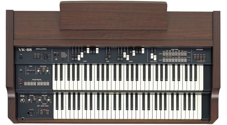 When you first see Roland VK-88, you will immediately notice it has two manuals with 61 keys on each
