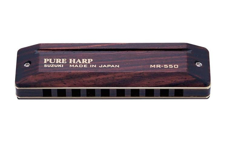 Pure harp Suzuki. Made in Japan MR-550