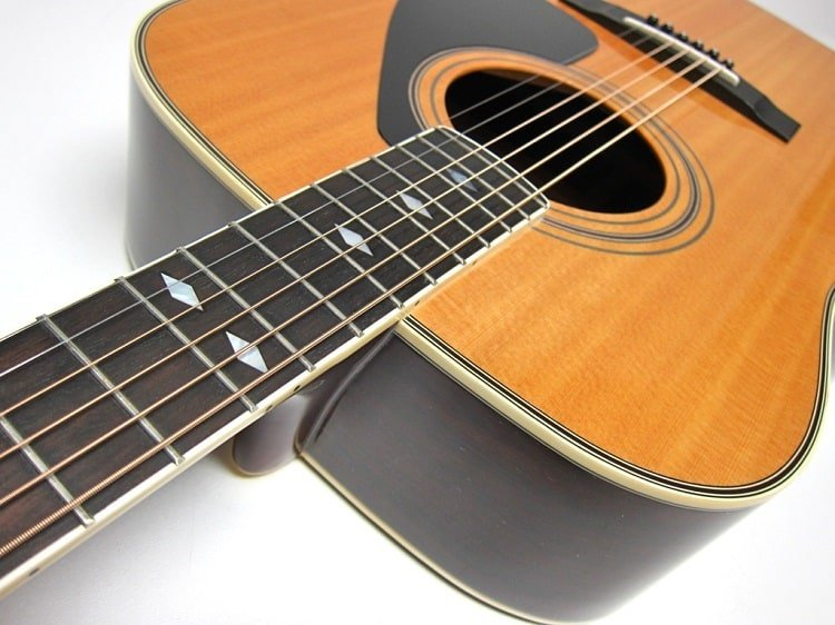 dreadnought design - neck is made of nato with an Indian rosewood fretboard