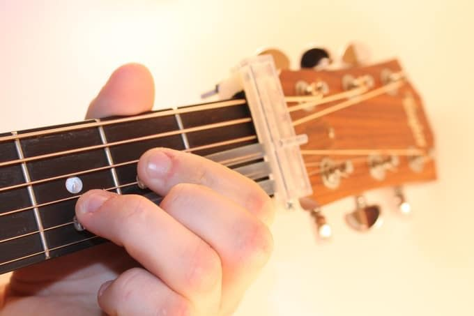 place each finger on the specific fret