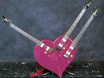 love heart guitar