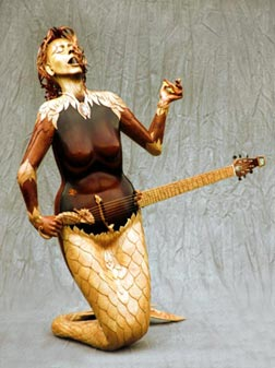 The mermaid guitar