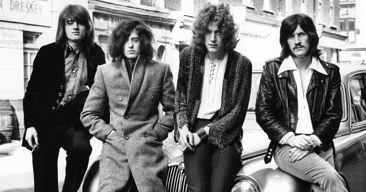 led zeppelin old original group image