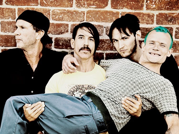 Red Hot Chili Peppers road tripping