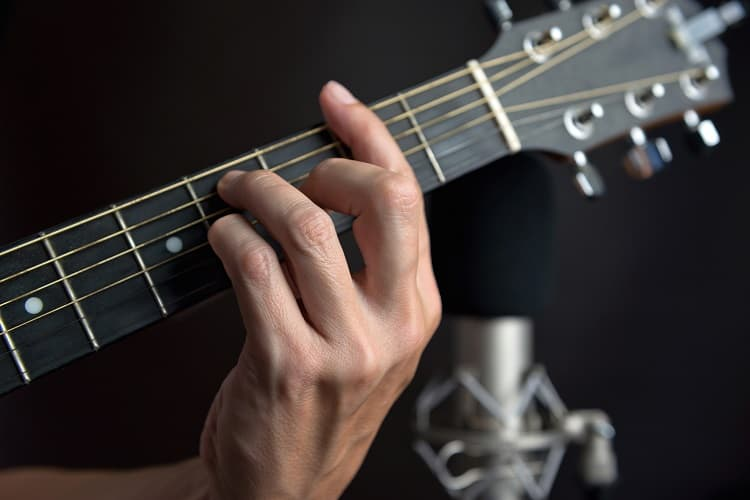 Picture Of Chords On Guitar